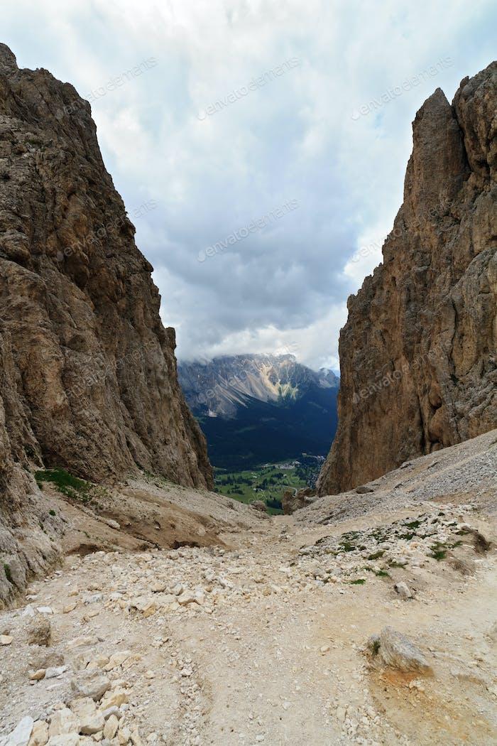 Vaiolon pass - Italian Dolomites