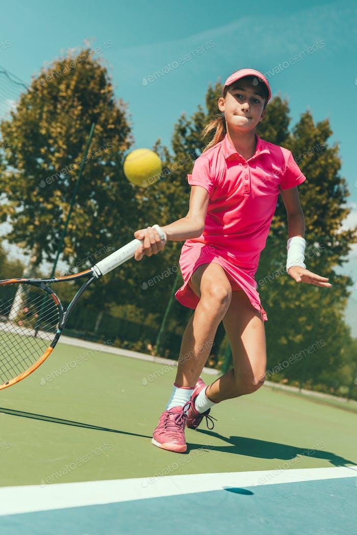 04 tennis girl blue 6991 f3