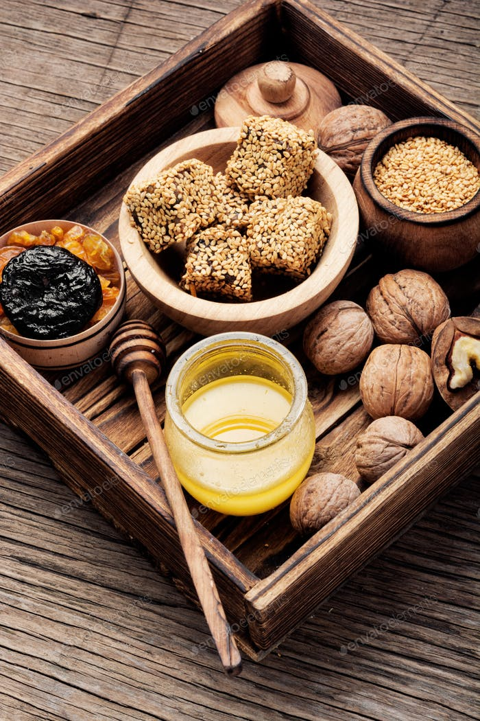 Diätetische Süßigkeiten für Immunität
