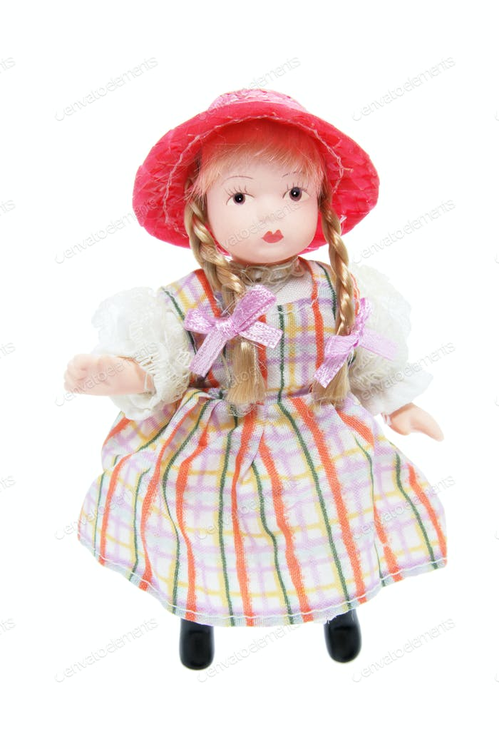 Doll with Red Hat