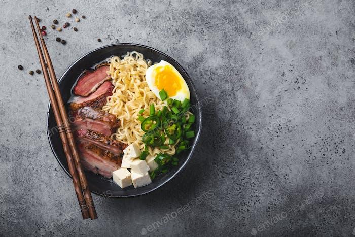 Japanese soup ramen