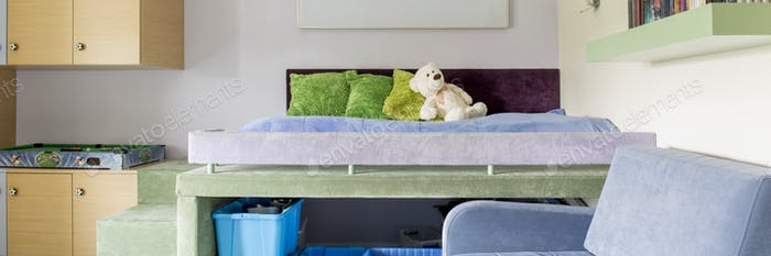 Cozy child's room