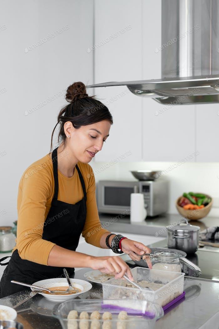 Cocinar en Página de inicio