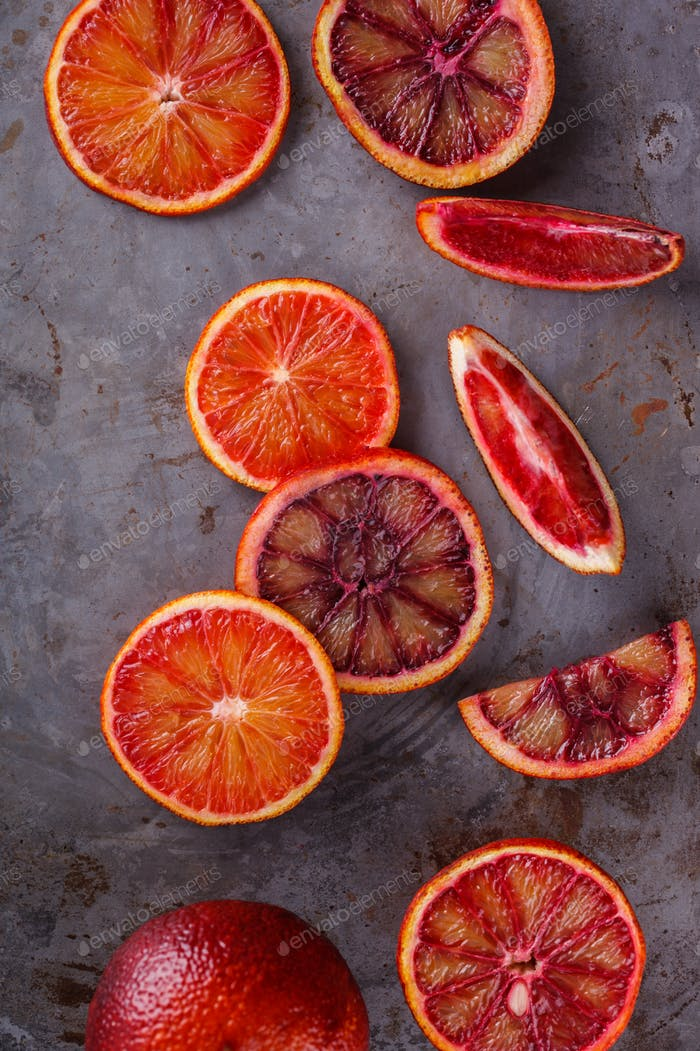 Blood orange.Citrus fruits. Antiviral healthy food. Immunity restoration.