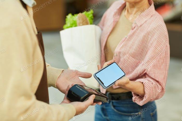 NFC Payment Close up