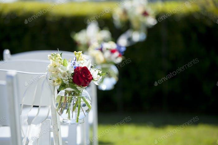 Blumenstrauß für Hochzeit