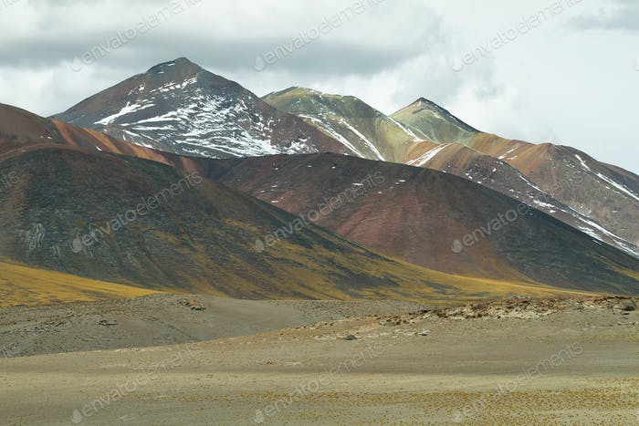 View of mountains in Sico Pass
