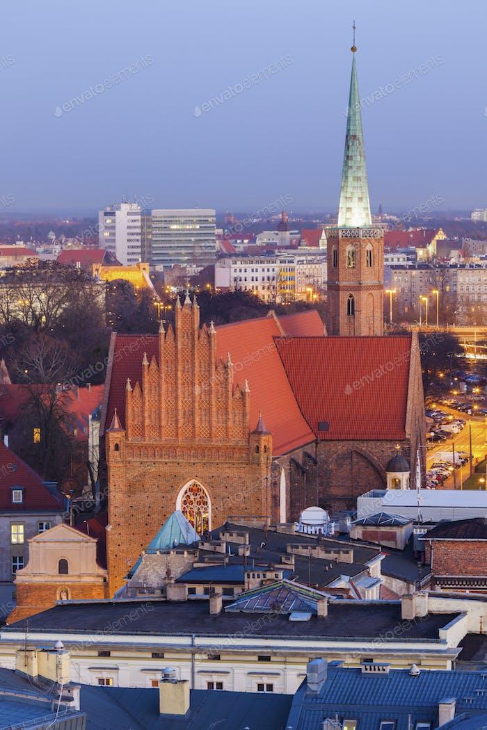 Iglesia de San Adalberto en Breslavia