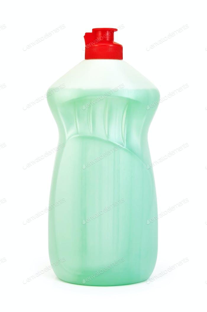 Bottle of light green