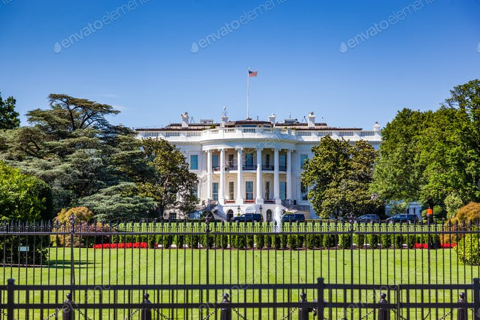 Das Weiße Haus, Washington DC, Vereinigte Staaten von Amerika.
