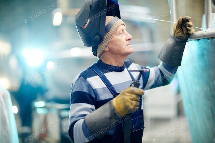 Mature welder