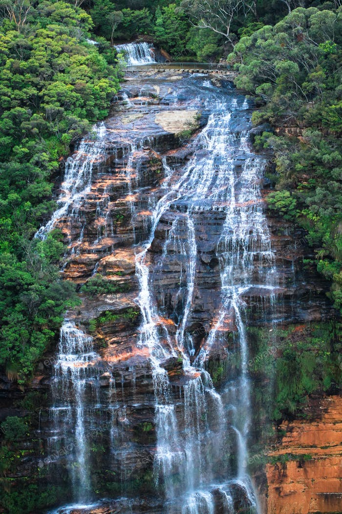 Wentworth Falls in Australia
