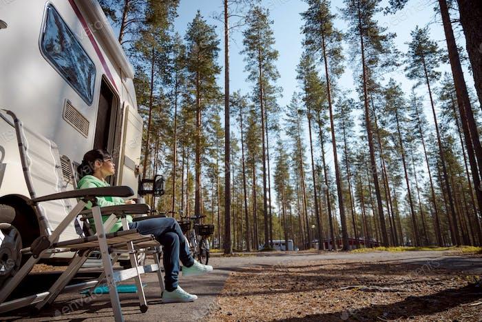 Familienurlaub Wohnmobil, Urlaub im Wohnmobil