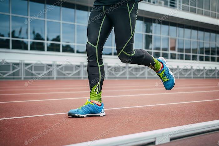 Nahaufnahme Beine Männer Athlet