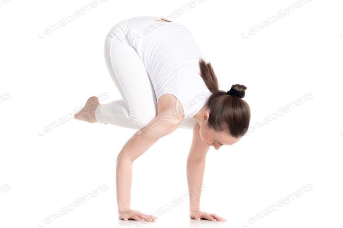 Bakasana handstand