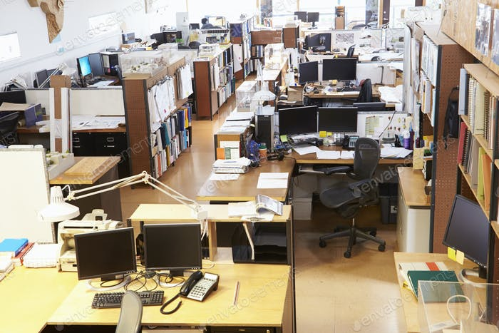 Interior Of Empty Architect's Office