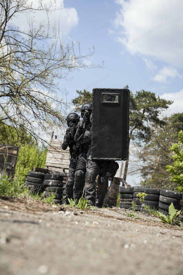 Spec ops Polizeibeamter SWAT