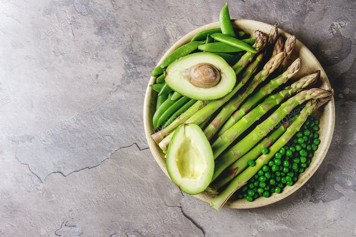 Young Green asparagus