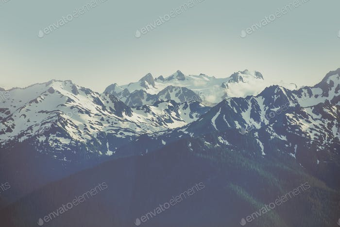 Olympic Mountain Range