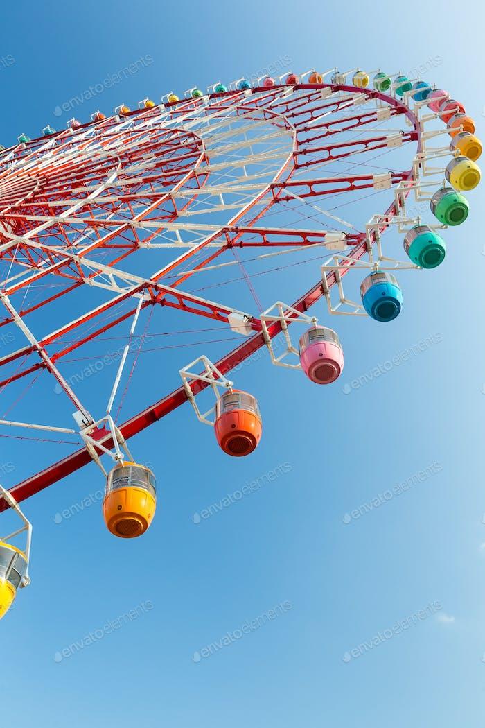 Ferris wheel in carnival