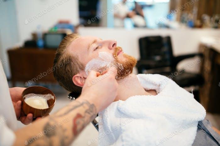 Лечение бороды усов волос