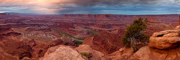 Canyonlands von Dead Horse Point, Utah