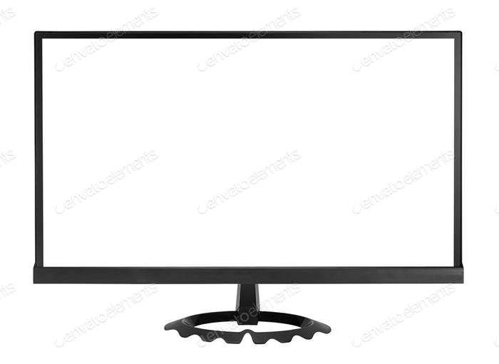 HD monitor isolated