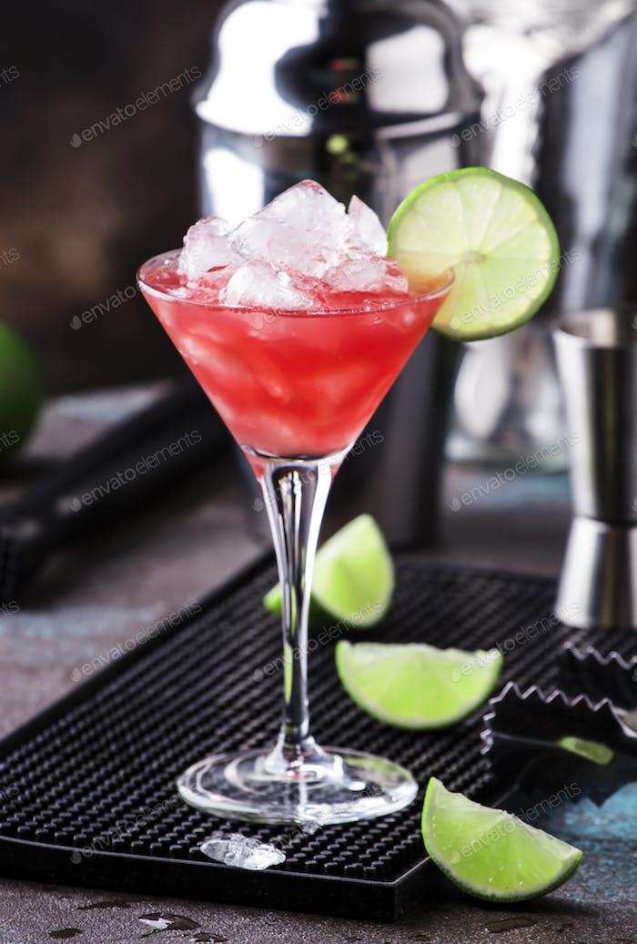 Wassermelone Schuster, alkoholischer Cocktail