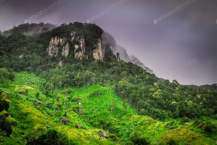 Mountain in Madagascar