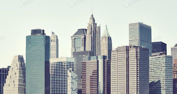 Fenster von New York.