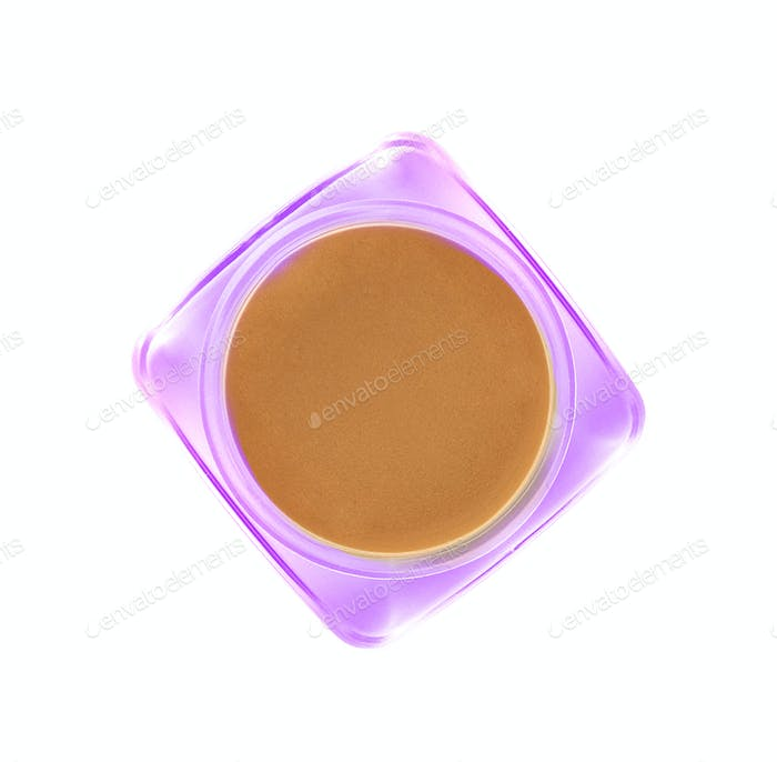 Beauty cream isolated on white