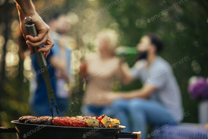 Smokey barbecue