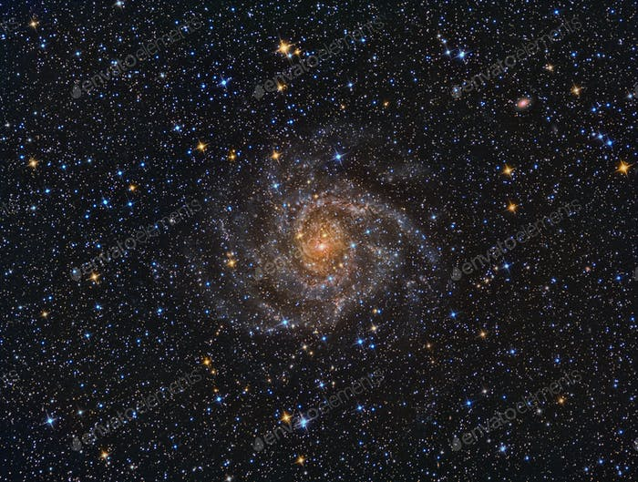 IC342 Galaxie spirale