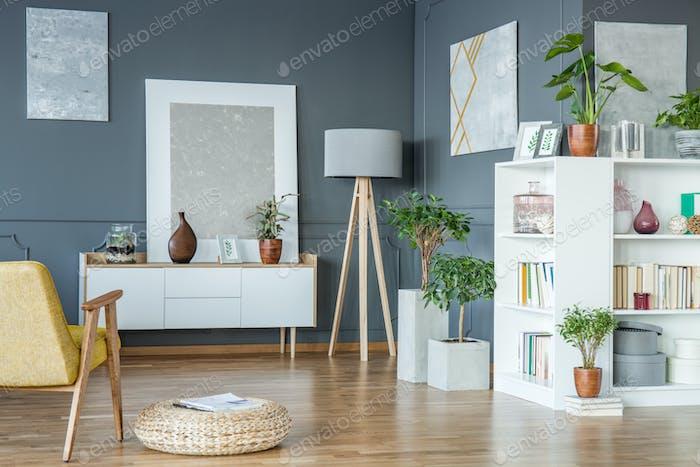 Lamp in the corner