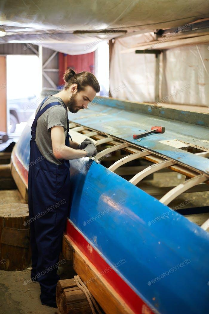 Shipbuilding process