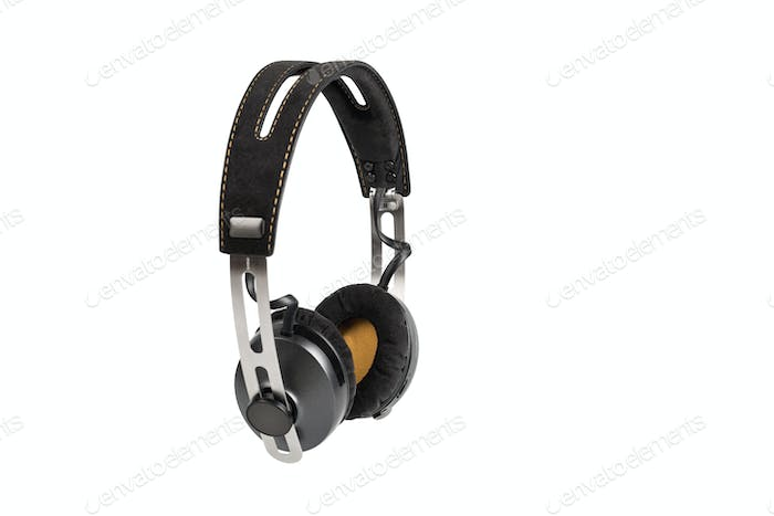 wireless headphones isolated