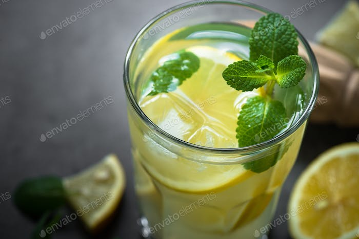 Lemonade Traditional Summer drink.