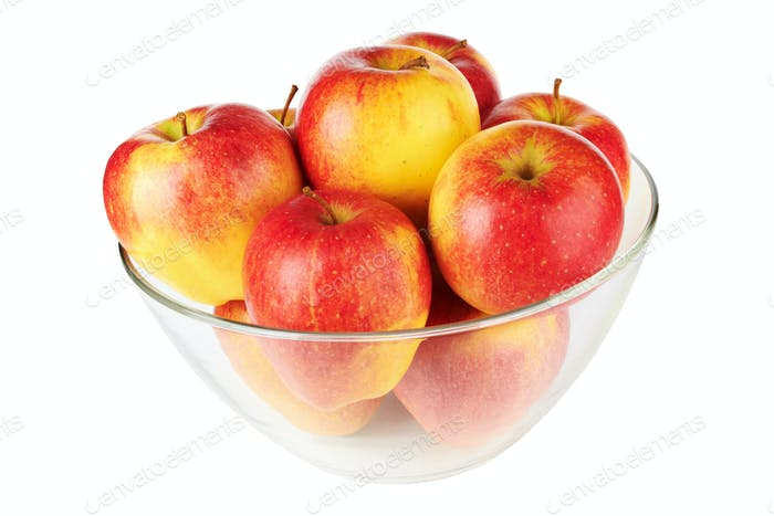 bowl with apples