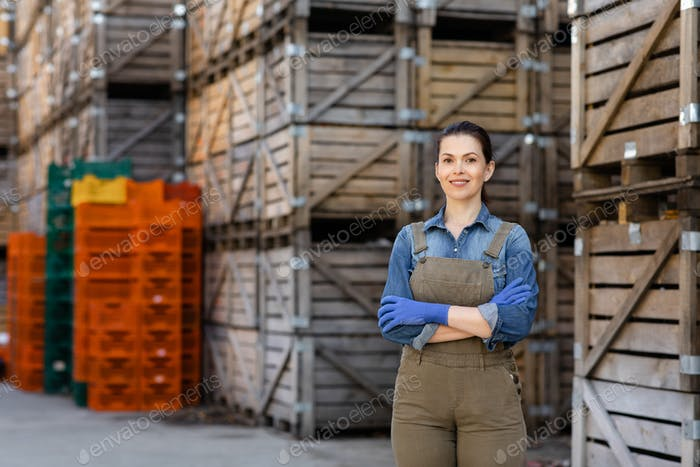 Owner of business, manager of storage and worker
