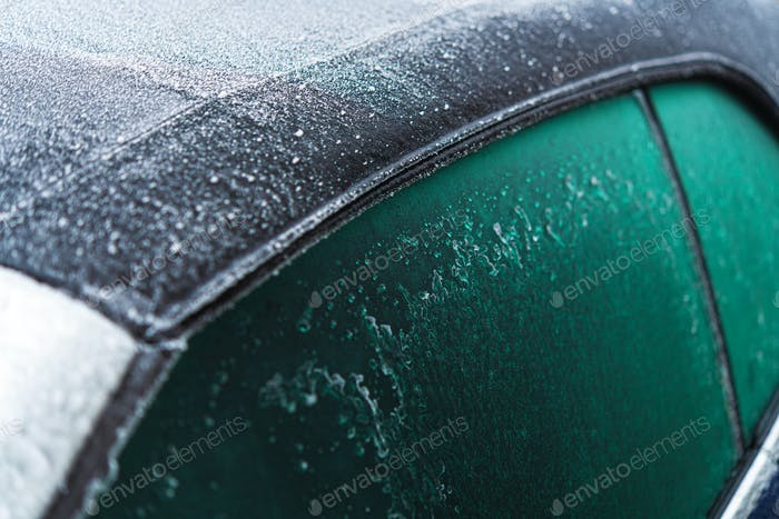 Fabric Convertible Vehicle Roof and Extreme Winter Temperatures.