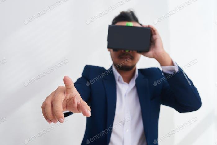 Uso de la interfaz VR