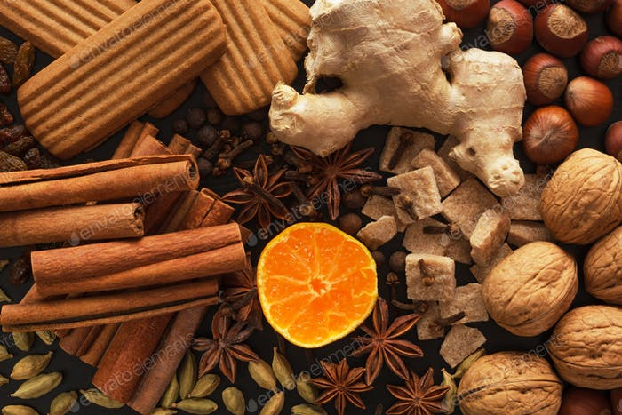 Thumbnail for Spices for preparation mulled wine: christmas drink