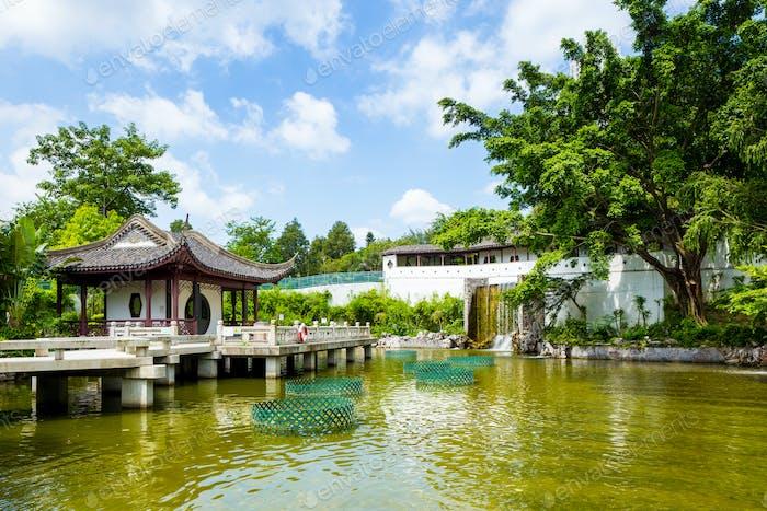 Traditioneller chinesischer Pavillon