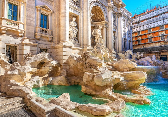 Fountain de Trevi