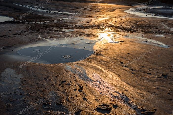 Muddy Volcano Crater