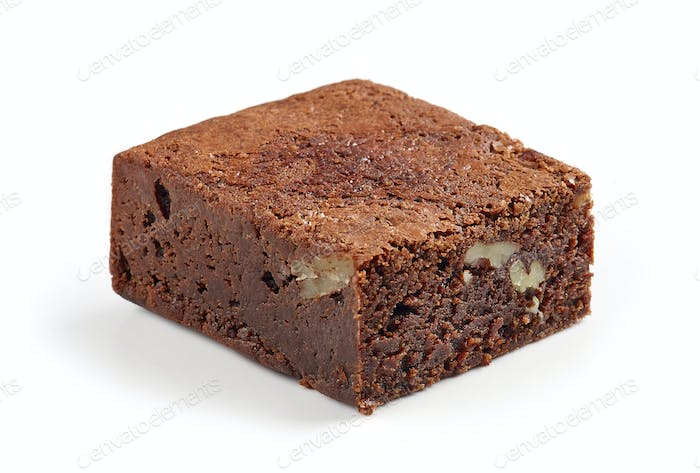 piece of brownie cake