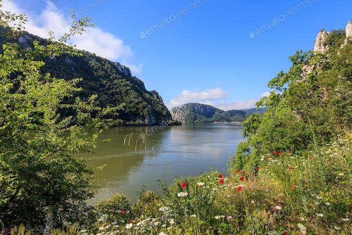Danube Gorges. Cazanele Mari, Romania