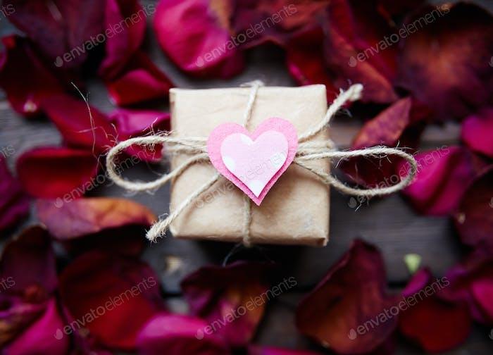 Romantisches Geschenk