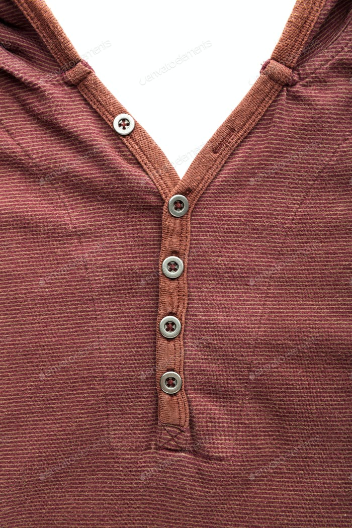 Brown cardigan with buttons