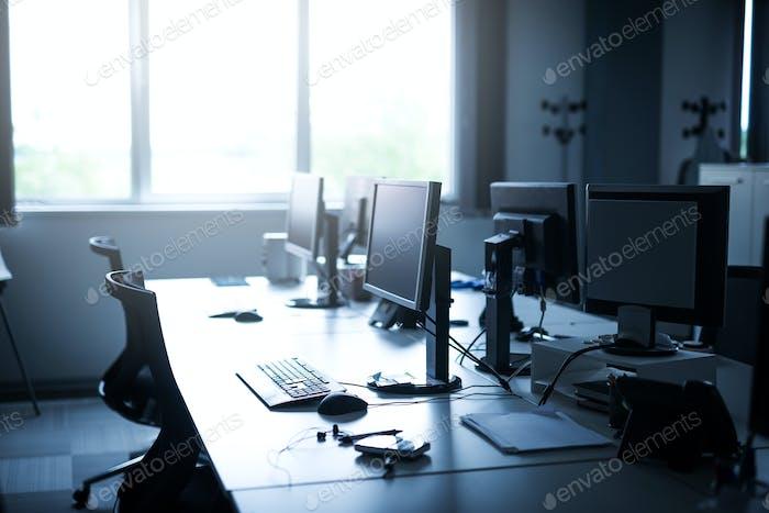 Leerer Business Coworking Space